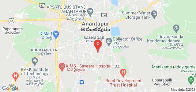 Sri Vijayanagar College of Law & PG Studies, 80 Feet Road, Housing Board Colony, Anantapur, Andhra Pradesh, India