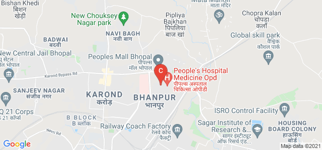 People's College of Medical Sciences & Research Centre, Karond Bypass Rd, Peoples Campus, Bhanpur, Bhopal, Madhya Pradesh, India