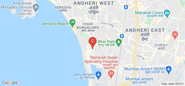 Ville Parle West, Juhu Scheme, Mumbai, Maharashtra, Indiai Mandals Matushri Kundangauri Manharlal Sanghvi Girls' Hostel, Parulekar Road, Sainath Nagar, JVPD Scheme, Vile Parle West, Mumbai, Maharashtra, India