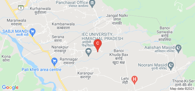 The ICFAI UNIVERSITY, Baddi, Haryana, India