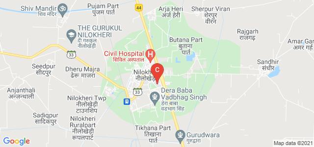 State Institute of Engineering & Techonology, Nilokheri, Grand Trunk Road, Government Polytechnic Area, Nilokheri, Haryana, India