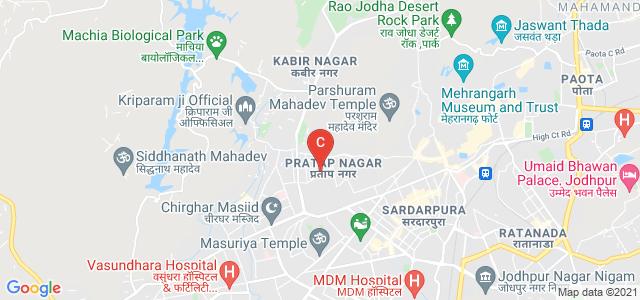 Shri Mahalaxmi Mahila Shikshak Prashikshan Mahavidhyalay, U.I.T Colony, E-Sector, Pratap Nagar, Jodhpur, Rajasthan, India