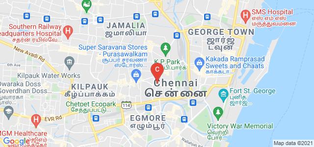 Guru Shree Shantivijai Jain Vidyalaya, Vepery High Road, Vepery, Choolai, Chennai, Tamil Nadu, India