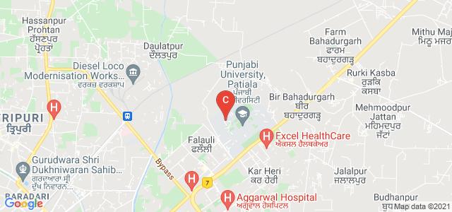 Punjabi University patiala, School Of Management Studies, University College of Engineering Road, Urban Estate Phase II, Urban Estate, Patiala, Punjab, India