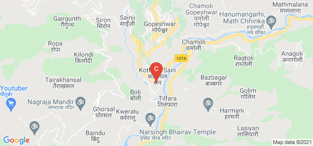Institute of Technology, Gopeshwar, Gopeshwar Chamoli Road, Kothiyal Sain, Uttarakhand, India