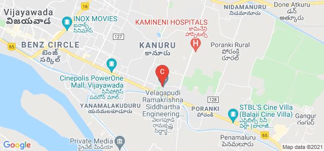 Velagapudi Ramakrishna Siddhartha Engineering College, Highway, Chalasani Nagar, Kanuru, Vijayawada, Andhra Pradesh, India