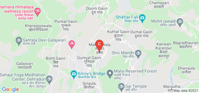 DIT University, Diversion Road, Salan Gaon, Bhagwant Pur, Makka Wala, Uttarakhand, India