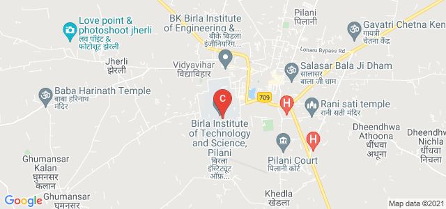 Birla Institute of Technology and Science, Pilani, Rajasthan, India