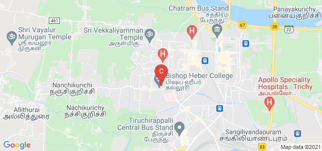 Bishop Heber College, Vayalur Road, Puthur, Thillai Nagar, Tiruchirappalli, Tamil Nadu, India