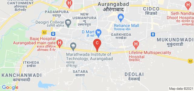Maharashtra Institute Of Technology Aurangabad, Beed Bypass Road, Satara, Aurangabad, Maharashtra, India