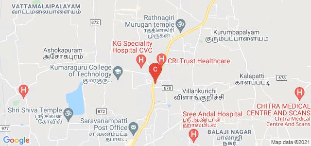 Kumaraguru College of Technology, Athipalayam Road, Chinnavedampatti, Coimbatore, Tamil Nadu, India