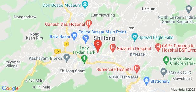 William Carey University, Police Bazar, Shillong, Meghalaya, India