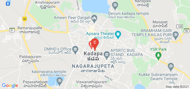 Zion College of Physical Education, Railway Station Road, NGO Colony, Maria Puram, Kadapa, Andhra Pradesh, India