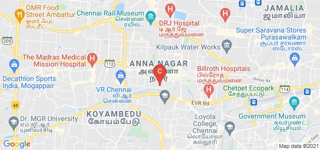 Anna Adarsh College for Women, 9th Main Road, Block AI, AI Block, Anna Nagar, Chennai, Tamil Nadu, India