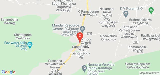 Dr.AER College of Management Studies and Research, Bus Stop, C Ramapuram, Andhra Pradesh, India