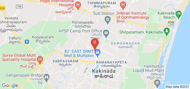 Rajiv Gandhi Institute Road, Lalitha Nagar, Kakinada, Andhra Pradesh, India