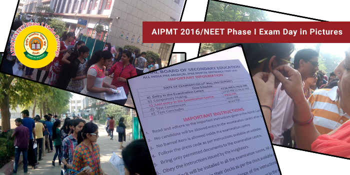 AIPMT 2016 - NEET Phase 1 Exam Day in Pictures