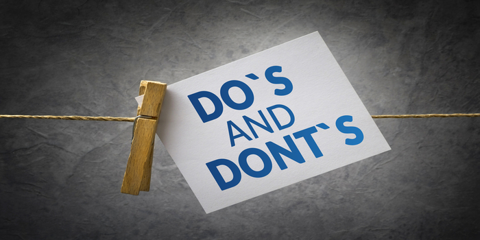 Do's and Don'ts for NEET 2020