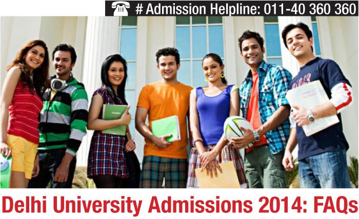 Delhi University Admissions 2014: FAQs