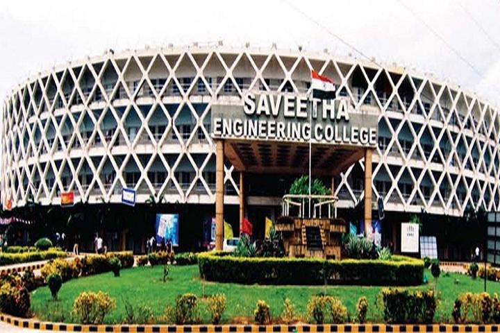 Saveetha Engineering College Chennai Courses Fee Cut Off Ranking Admission Placement Careers360 Com