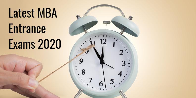 Latest MBA Entrance Exams 2020 Live Updates