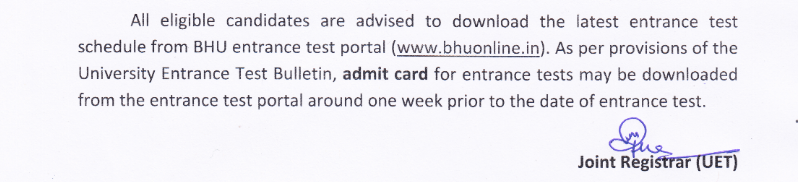 BHU-notice