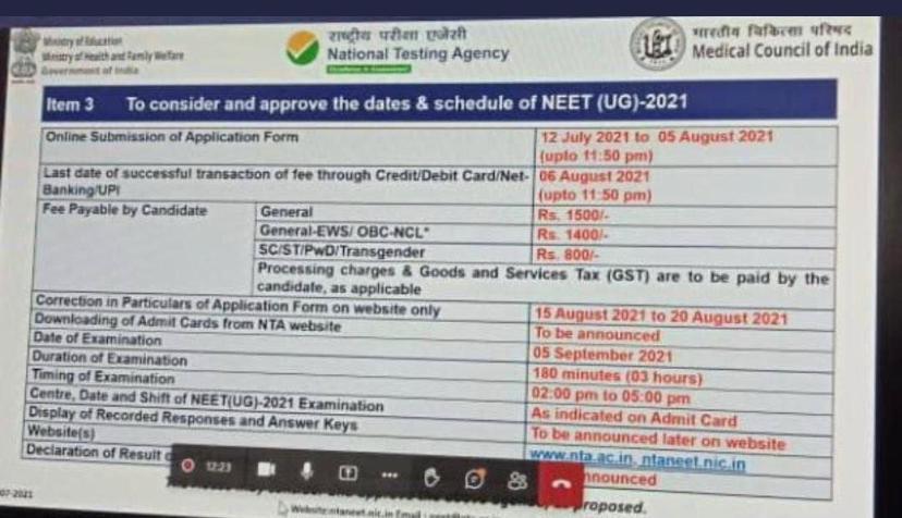 Fake-NEET-2021-exam-dates