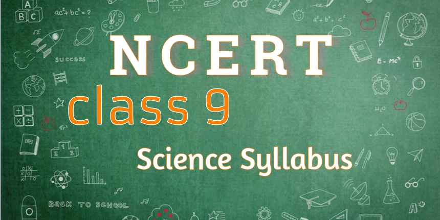 NCERT syllabus for class 9 science