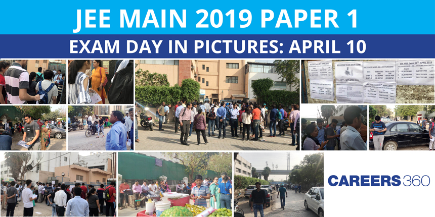 JEE Main 2019 Paper 1 Exam Day in Pictures : April 10