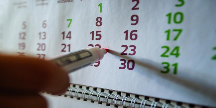 NEET MDS Important Dates 2020