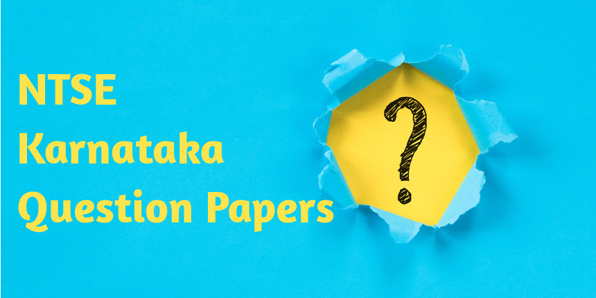 NTSE Karnataka Question Papers