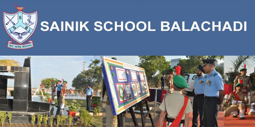 Sainik School Balachadi Admission 2020