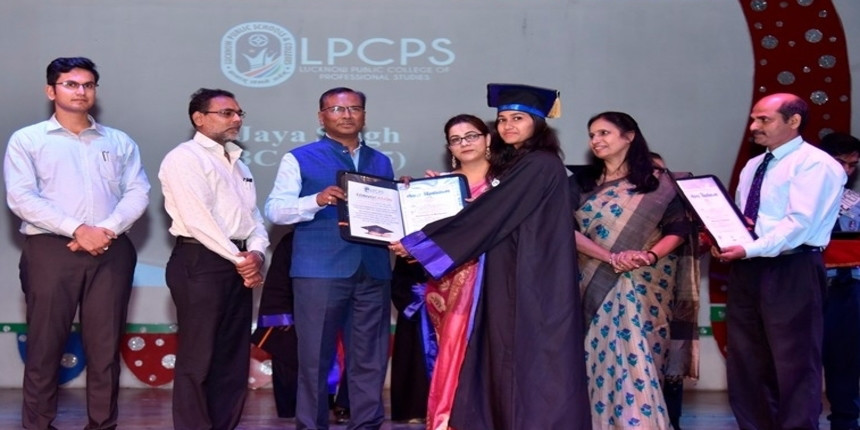 LPCPS Lucknow conducts convocation for BBA, BCA students