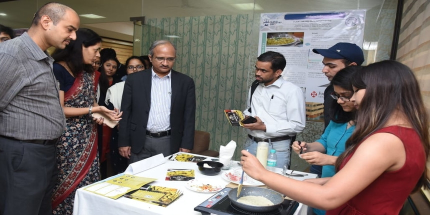 From vegan meat to drones, industry-led projects on display at IIT Delhi