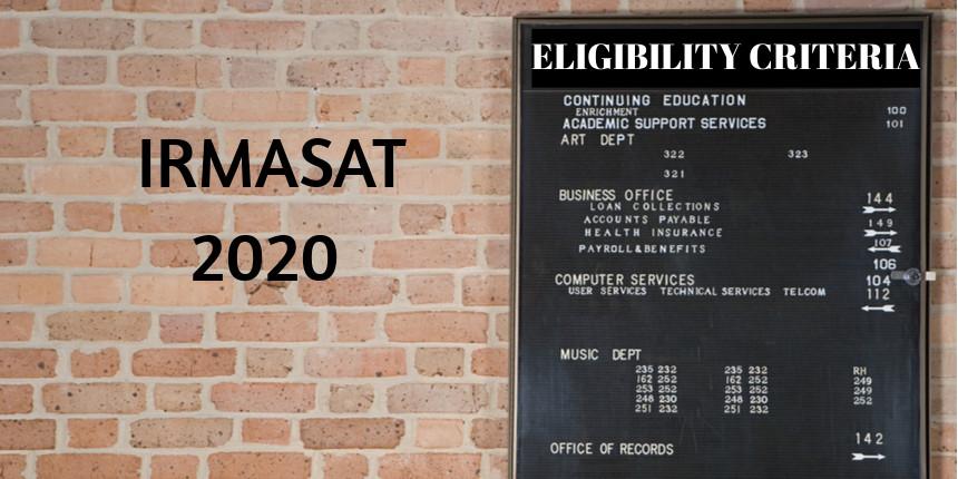 IRMASAT Eligibility Criteria 2020