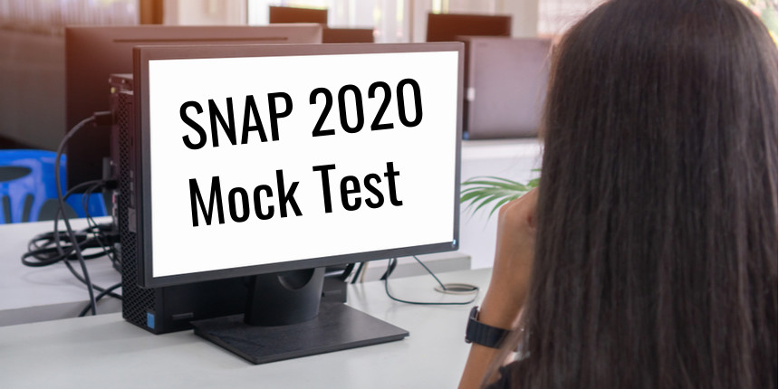 SNAP 2020 Mock Test  to be held on October 31 and November 1 - Check Details Here