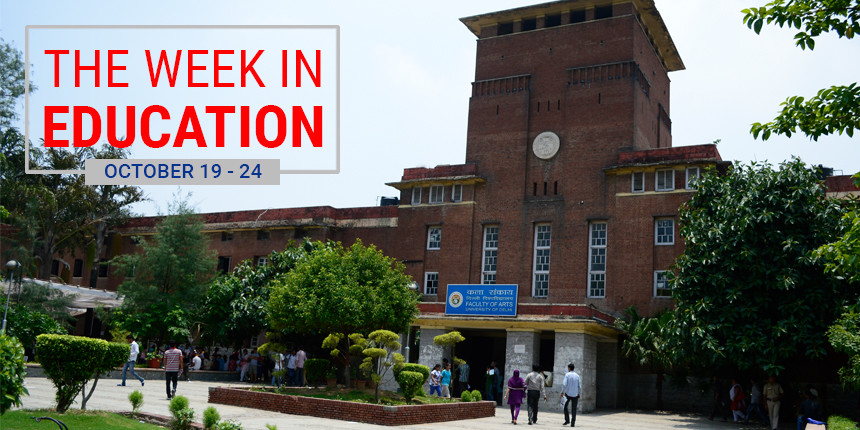 The Week In Education: Big fight in DU and NEET raises questions