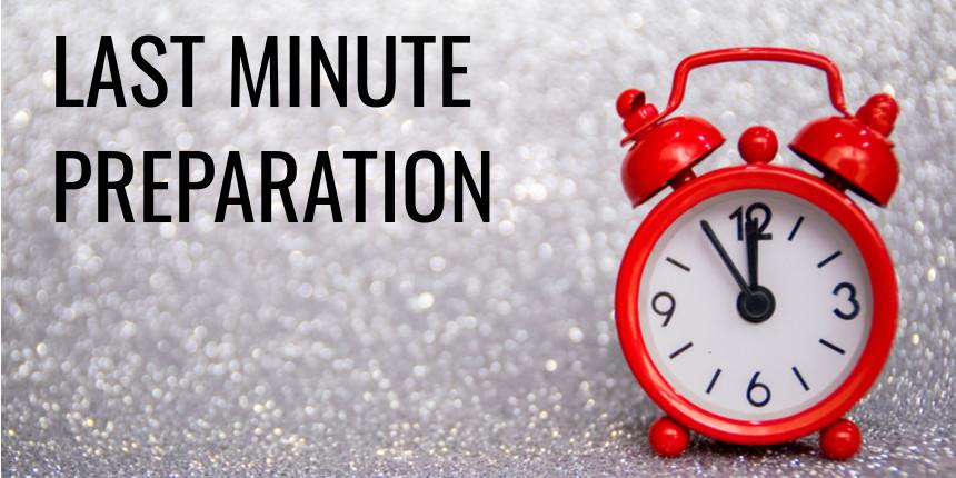 SBI Clerk Mains Exam 2020 - Last Minute Preparation Tips