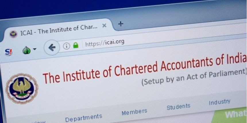 Lockdown period to be included in the Articleship training, says ICAI