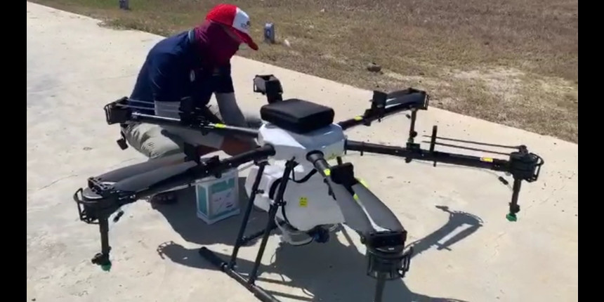COVID-19: IIT Guwahati students develop drones to spray disinfectants