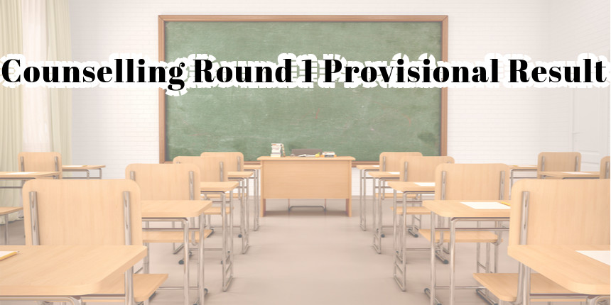 Neet Pg Mds 2020 Counselling Resumes Round One Provisional Result Announced At Mcc Nic In