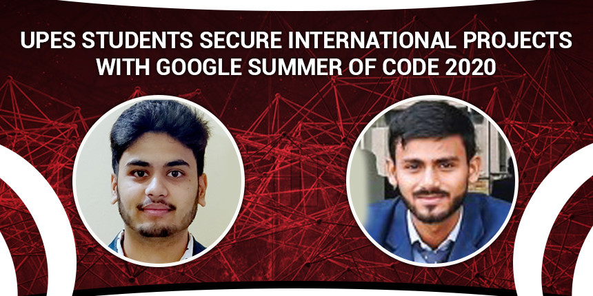 UPES students secure international projects with Google Summer of Code 2020