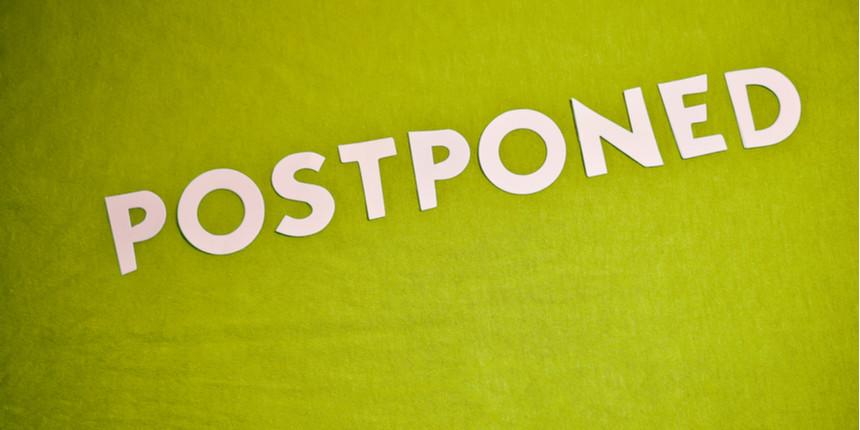IIM Rohtak IPM aptitude test 2020 postponed