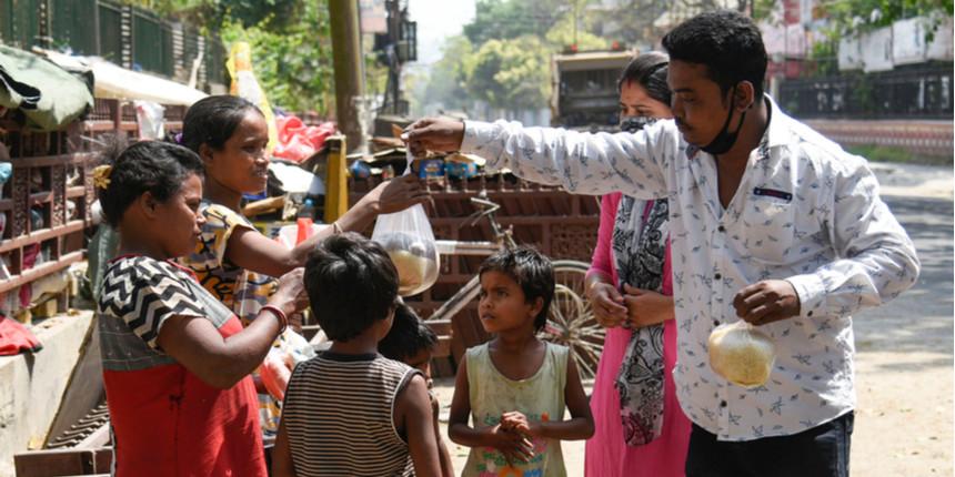 IIM Sambalpur's social club Sankalp provides relief to 400 families
