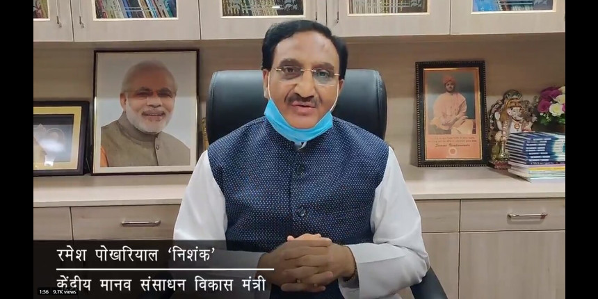COVID-19: Minister for HRD to conduct a webinar for teachers