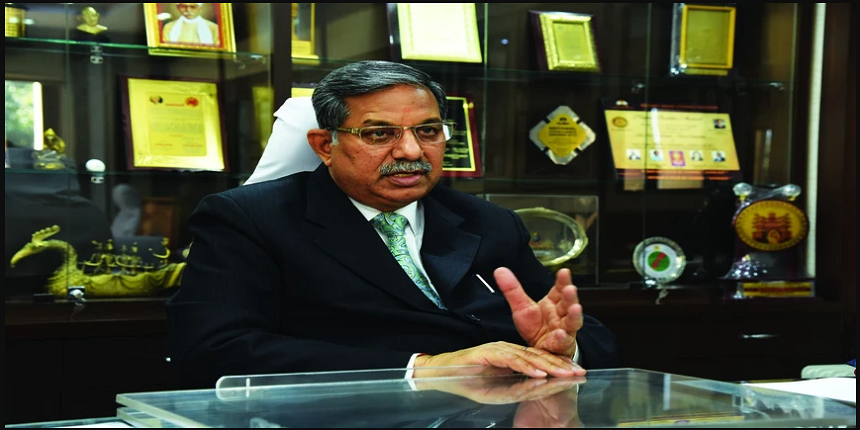 UGC to start blended learning after reopening of universities: Chairman D.P.Singh
