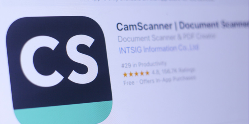 CamScanner ban may affect online assignments, DU's open book exam