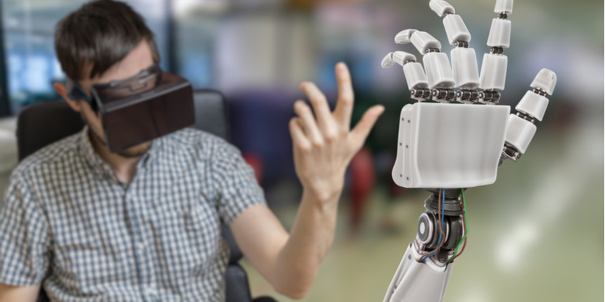 IISc's eye movement controlled robotic arm for speech and motor impaired