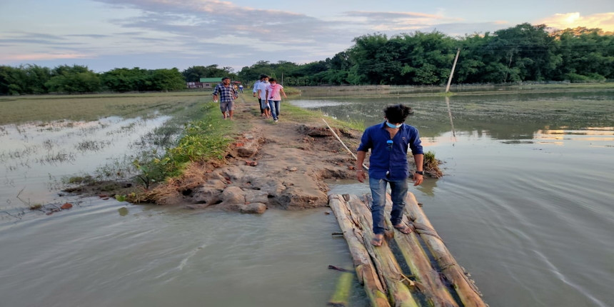 In flood-hit Assam, students want final exams cancelled