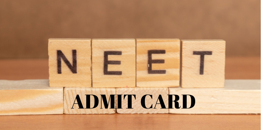 NTA announced NEET 2020 admit card release date; check details